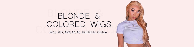 Blonde & Colored Wigs