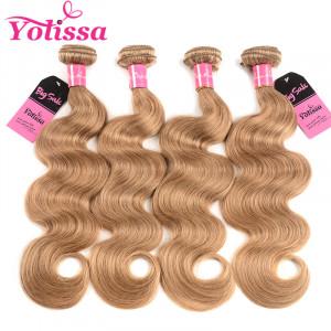 27 Hair Color 4 Bundles Body Wave Weaves