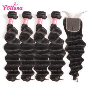 Brazilian Virgin Hair 4 Bundles