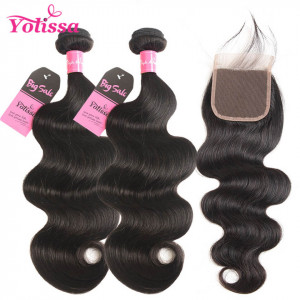 body wave 2 bundles with closure