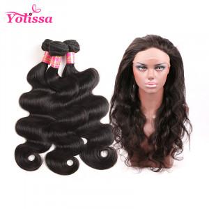 Brazilian Body Wave Virgin Hair 3 Bundles