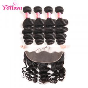 100% unprocessed hair 4 bundles