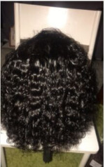Very nice wig and very thick. The seller answ