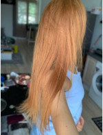 The hair is very soft and it is very easy to