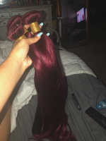 when i ordered this hair, i wasn't expecting