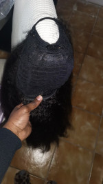 Beautiful wig the texture works perfectly wit