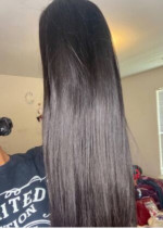 I ordered a Straight 26 inch wig with 200 den