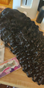 This wig is amazing really nice, the lace is