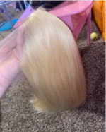 the hair is very soft! it's so easy to style