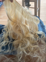 Very pretty hair. Great thick bundle! This wa