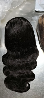 This is a Beautiful wig!!! The hair is smooth