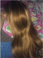 The seller had great communication, the hair