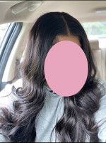The hair is pretty. Super soft and holds a cu