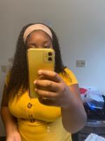 Pretty headband wig, I took 20 inches and sin