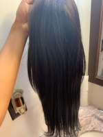 This hair is so soft and beautiful, no sheddi
