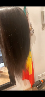High quality road wig the way the seller is v