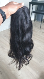 This wig is true to length, thick and so soft