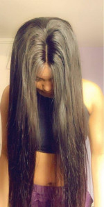 This is the most gorgeous hair ever. I got 26