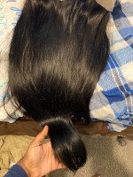 The hair is great quality, true to length and