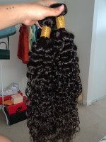 The hair is amazing, beautiful pattern of cur
