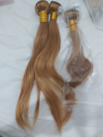 The hair is very nice soft the color same lik
