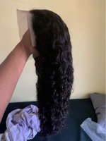 This hair is very thick and beautiful it's