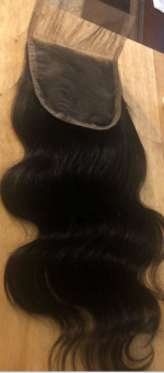 My hair is BEAUTIFUL,the closure is great and