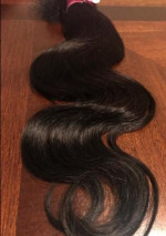 When I received my Brazilian body wave from Y