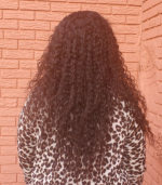 The texture is very soft and the hair doesn't