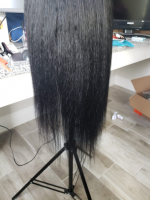 It is true to length and the texture is nice.