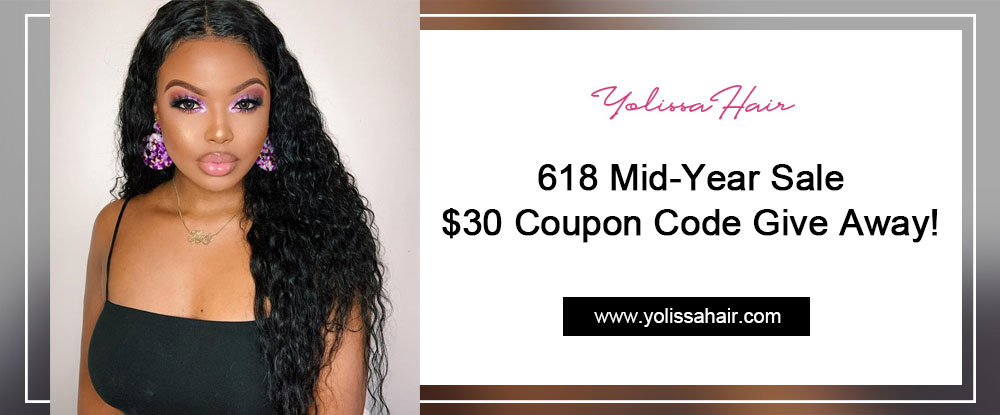 618 Mid-Year Sale - $30 Coupon Code Give Away!