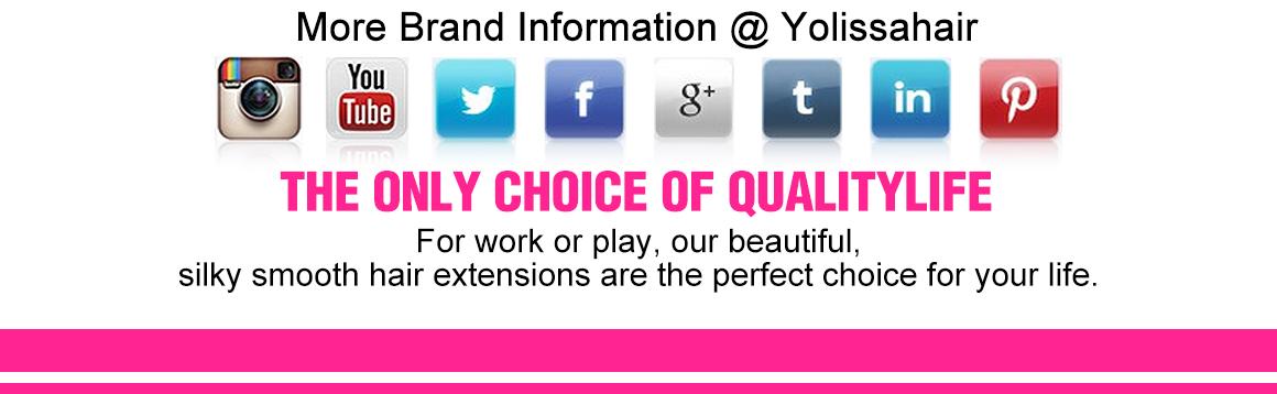 Yolissa virgin 99J straight 3 pcs hair bundles