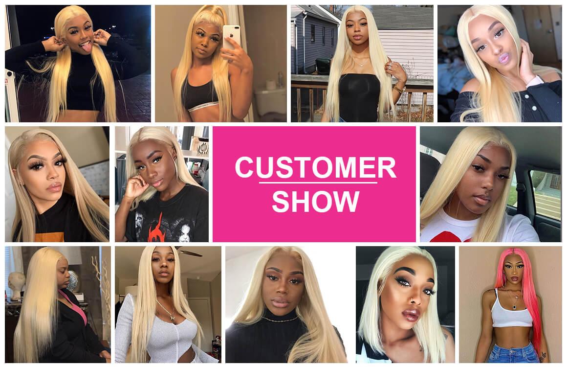 613 Straight Blonde Human Hair