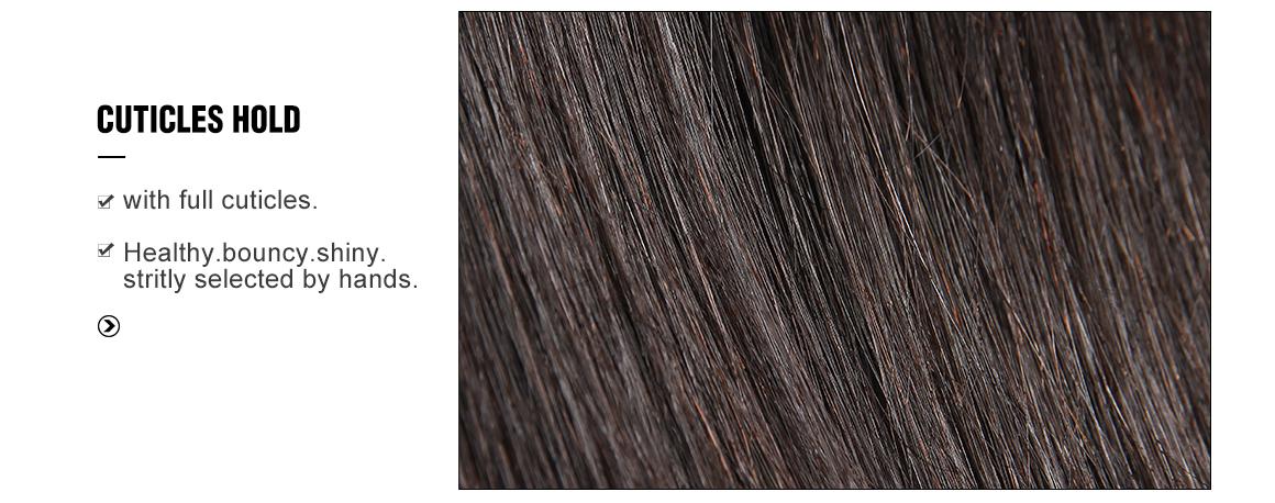 Bundles With 6*6 Closure Human Hair