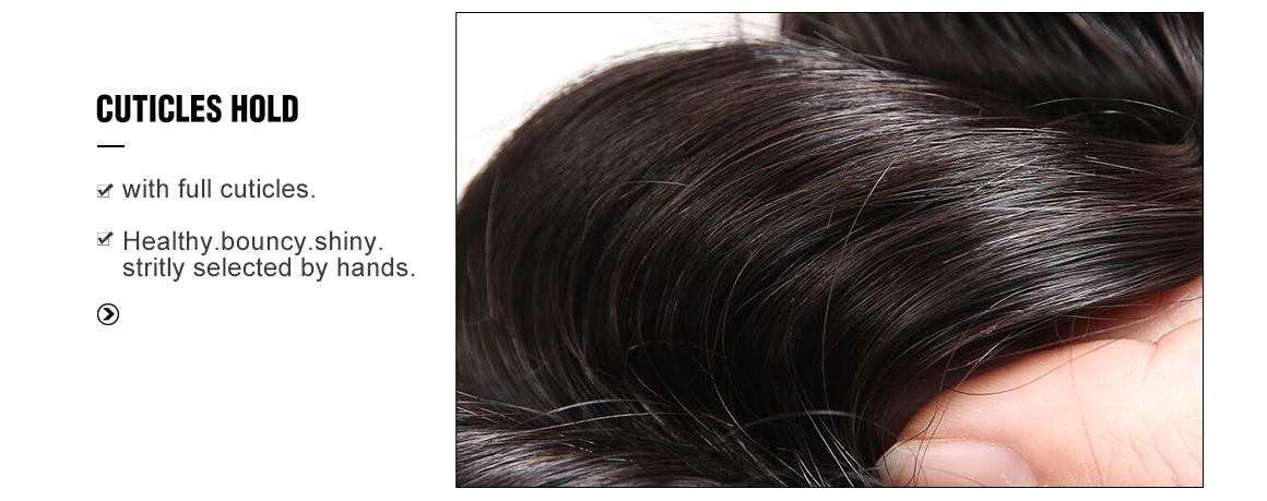 13x4 loose deep human virgin hair lace frontal with 4 bundles