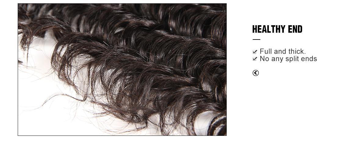 Brazilian virgin hair lace closure with 3 bundles