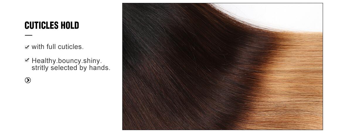 1b/4/27 color straight brazilian 4 hair bundles