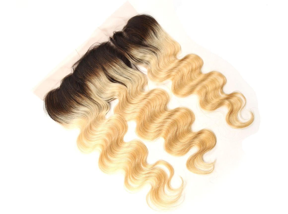 #1B/613 Ombre Blonde Human Body Wave Hair