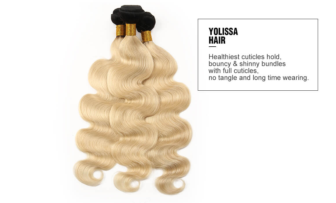 1B/613 Ombre Human Hair