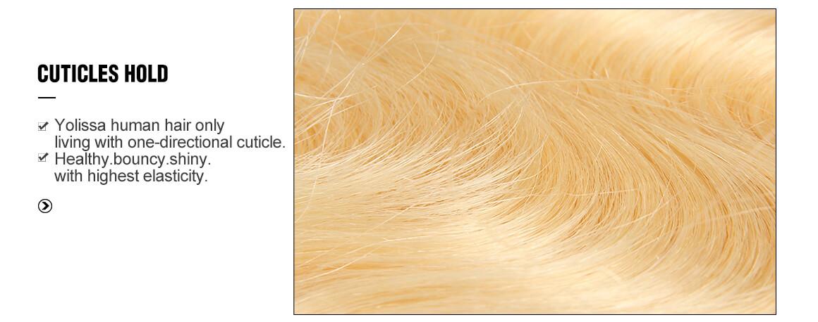 virgin hair 1B/613 4x4 body wave hair extensions