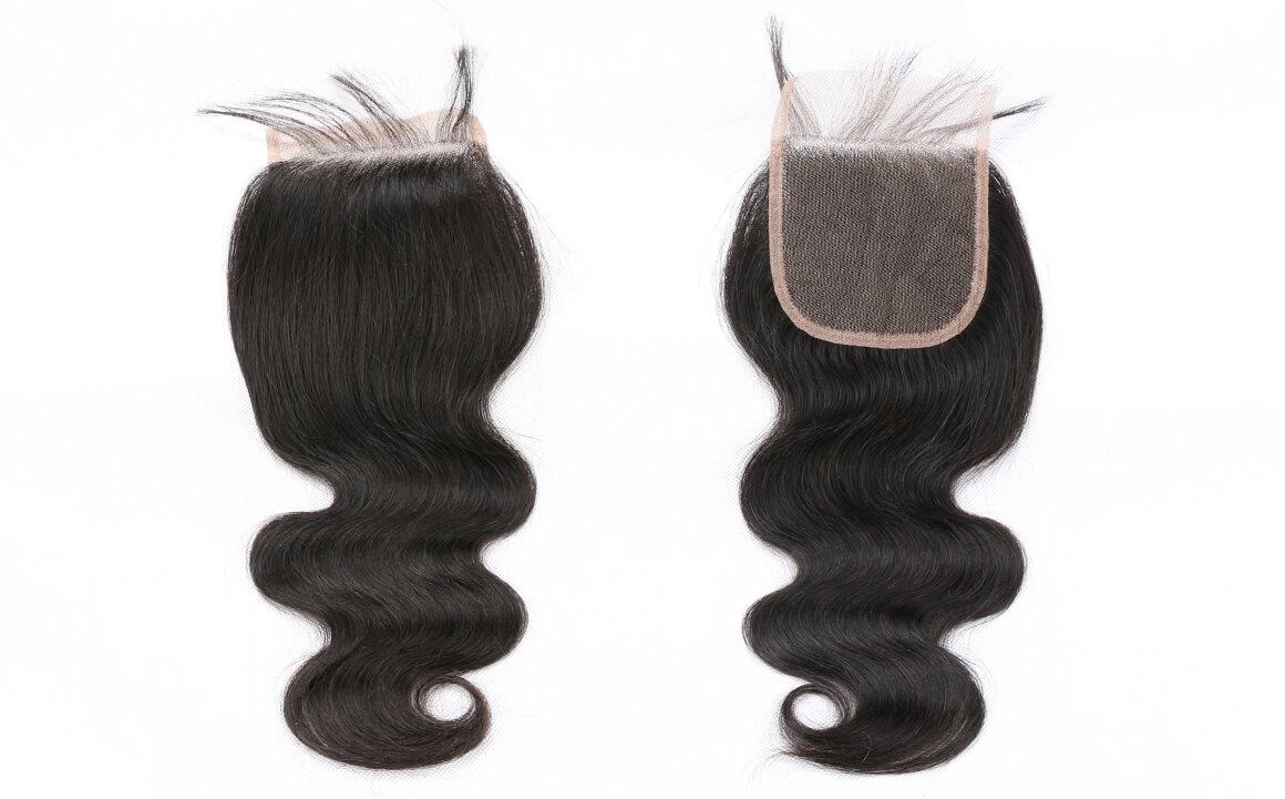 Body Wave Free Part Lace Closure Brizilian Human Virgin Hair