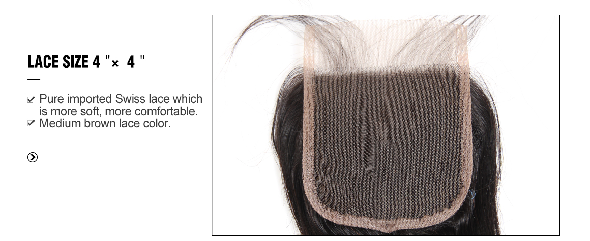 brazilian remy hair loose deep wave bundles with lace closure