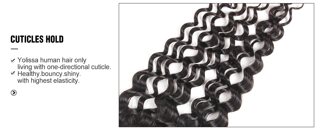 4 Bundles Water Wave Brazilian Human Virgin Hair with 8-20 Inch Lace Closure