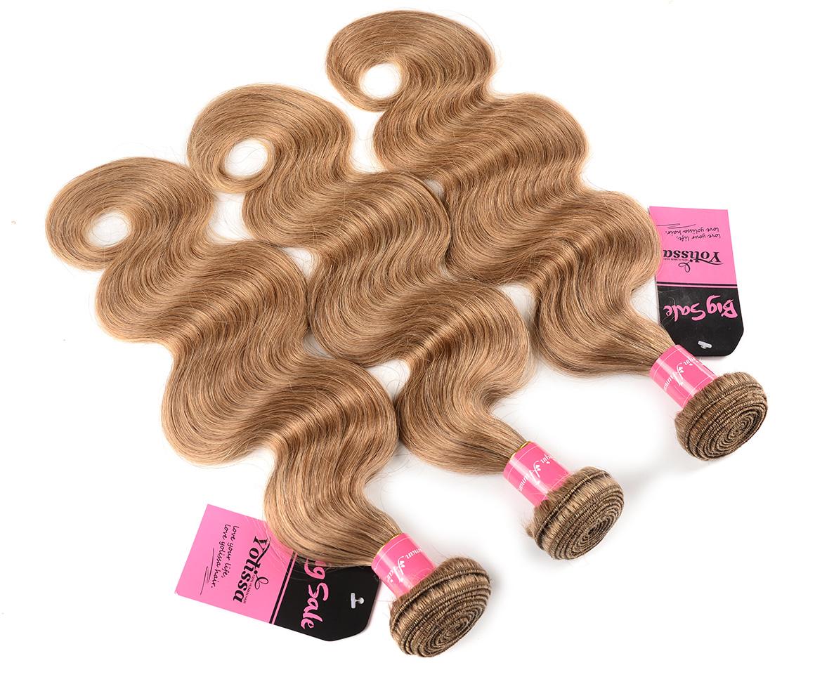 #27 Body Wave Hair Weaves