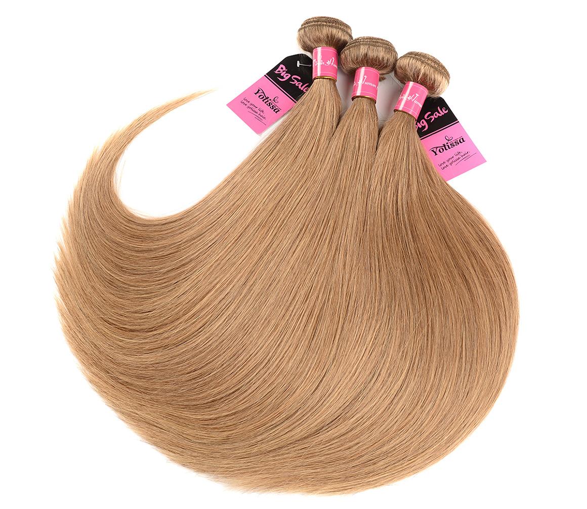 3 Bundles Pure #27 Straight Hair