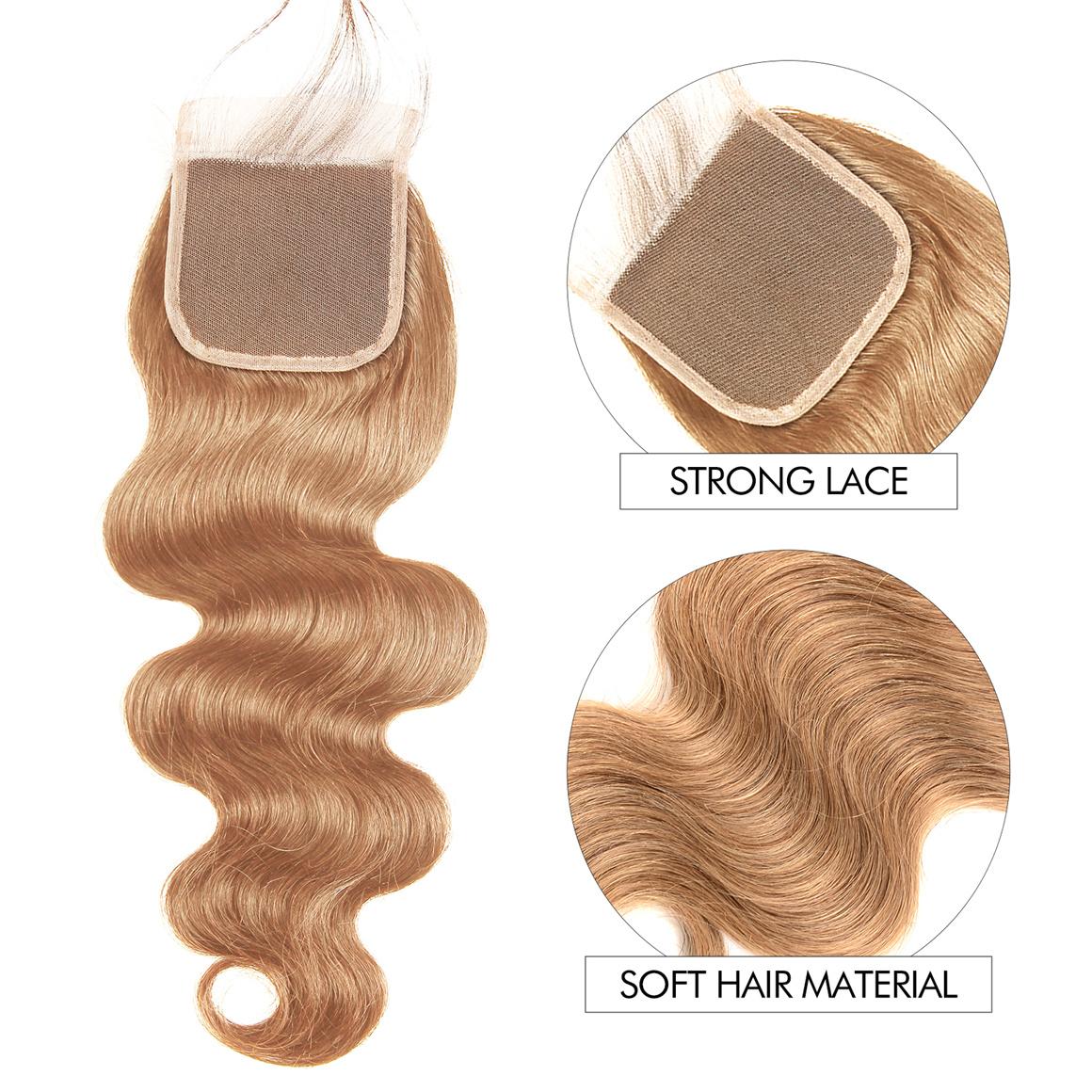 3 Bundles Honey Blonde Hair