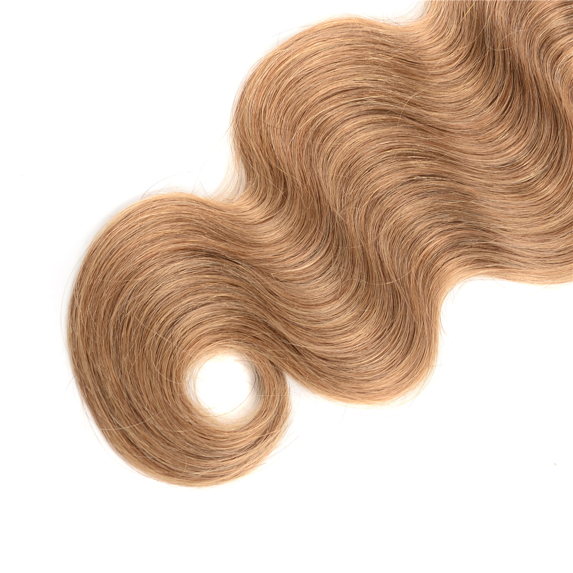Body Wave Honey Blonde Hair Weaves With Closure 4×4