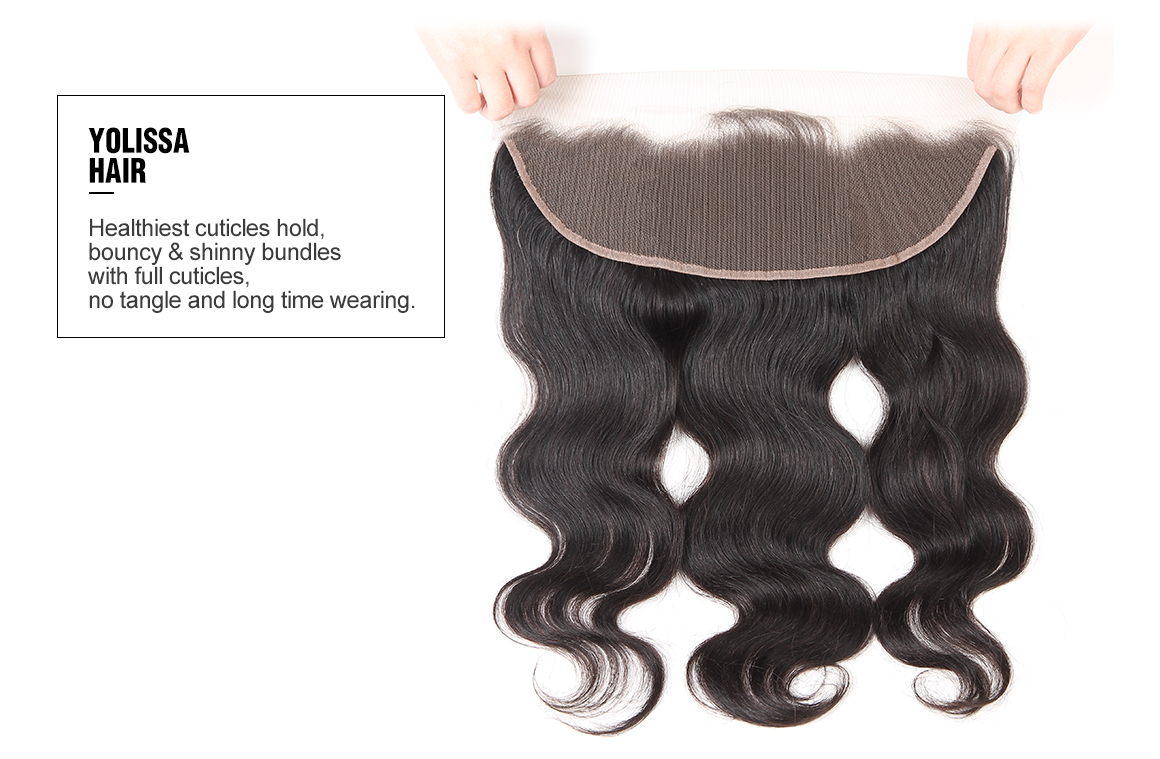 brazilian body wave virgin hair bundles with frontal 13 by 4