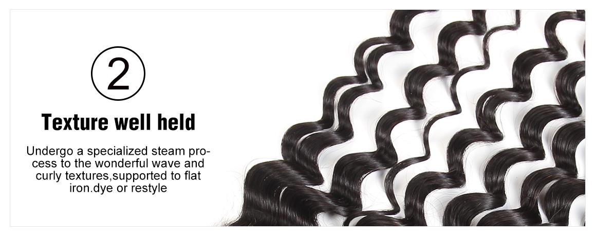 Free Part Loose Deep Lace Frontal Virgin Hair