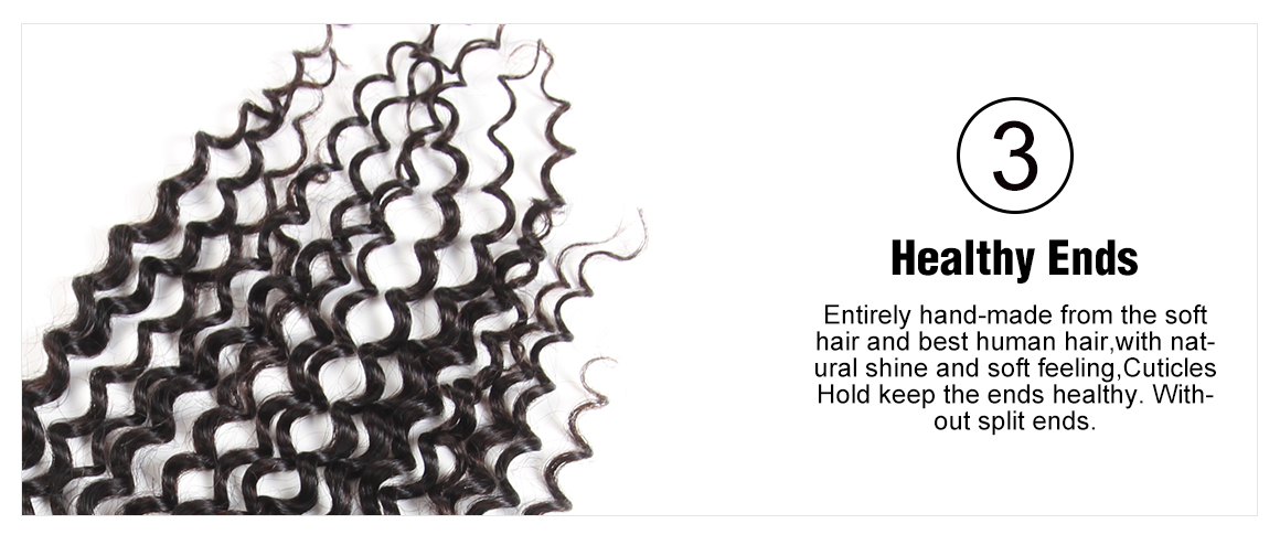 Yolissa Brazilian Virgin Curly Hair Lace Frontal